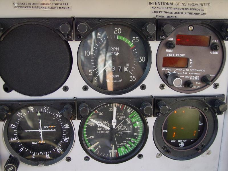1960 Beechcraft B33 Debonair Panel