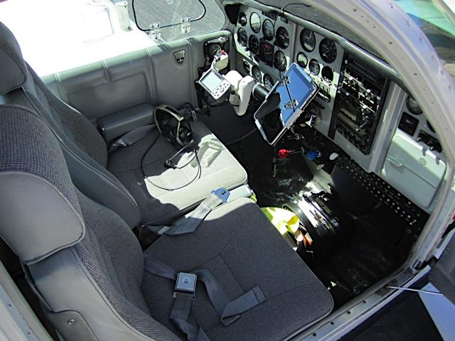 1971 Beechcraft F33A Interior