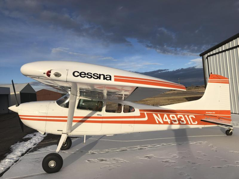 1975 Cessna 185F Skywagon