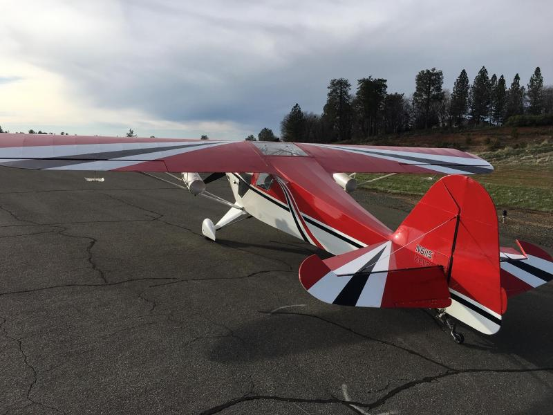 1997  Jim Moss clipped wing Tailorcraft