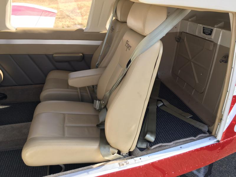 1979 Piper Cherokee Six Interior