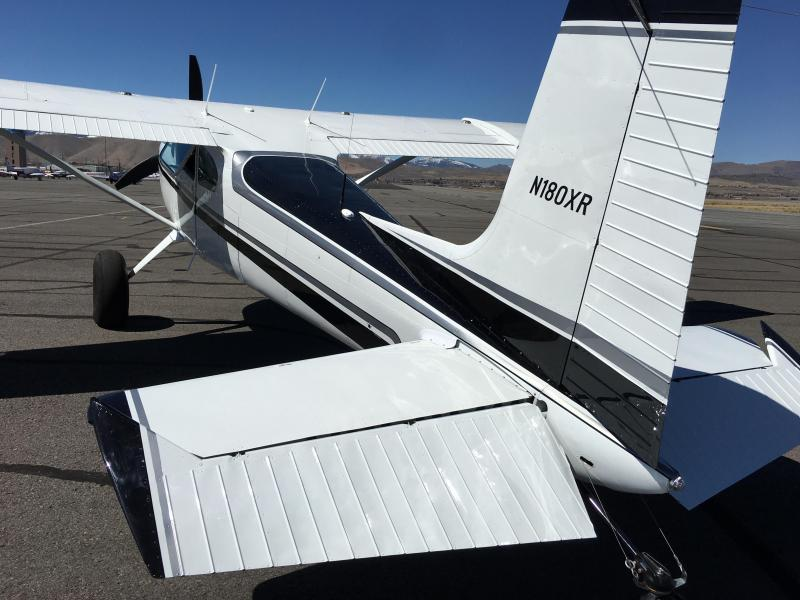 1954 Cessna 180 skywagon with IO-550