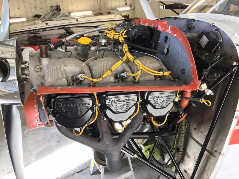 1970 Cessna A185E Skywagon Engine