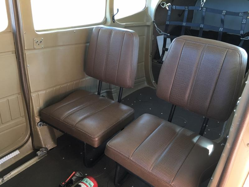 1983 Cessna A185F Skywagon Interior