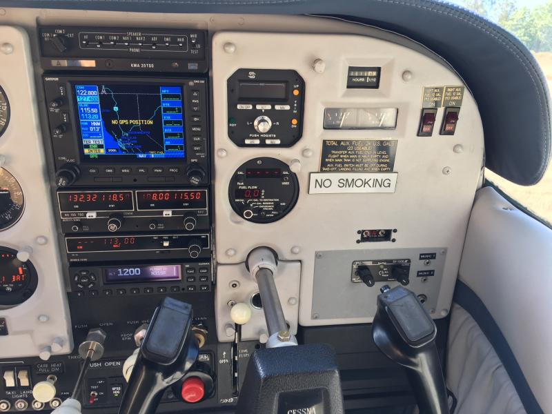 1962 Cessna 180E Skywagon Panel