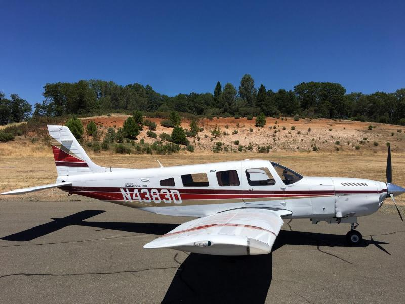 1985 Piper Turbo Saratoga, PA-32R 310T $154,500 (Here at