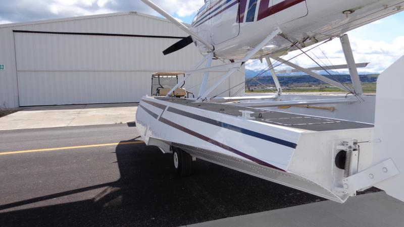 1975 Cessna 185F Skywagon Amphibian Floats