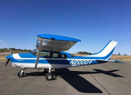 1968 Cessna Turbo TU-206C Super Stationair Exterior