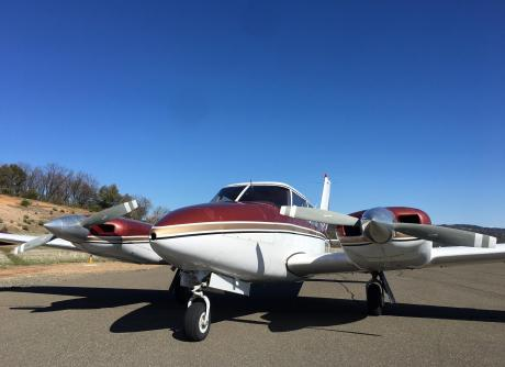 1963 Piper Twin Comanche PA 30.